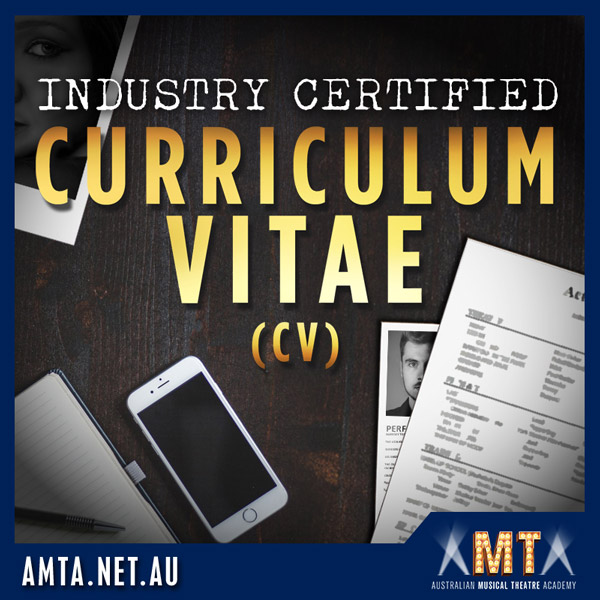 Industry Certified Curriculum Vitae (CV) Template