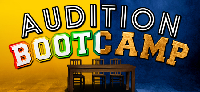 Audition Bootcamp for Kids & Teensposter