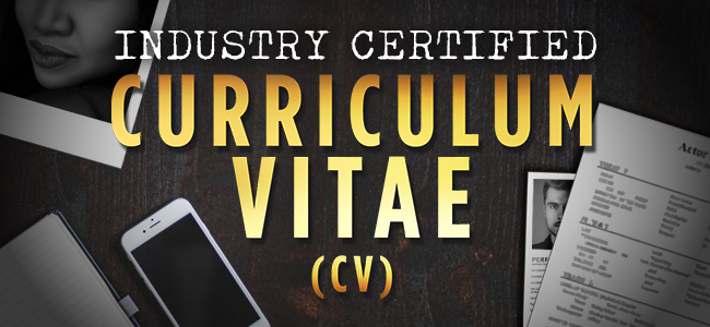 AMTA's Industry Certified Curriculum Vitae (CV) Template poster