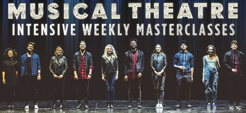 Musical Theatre Intensive Weekly Masterclasses